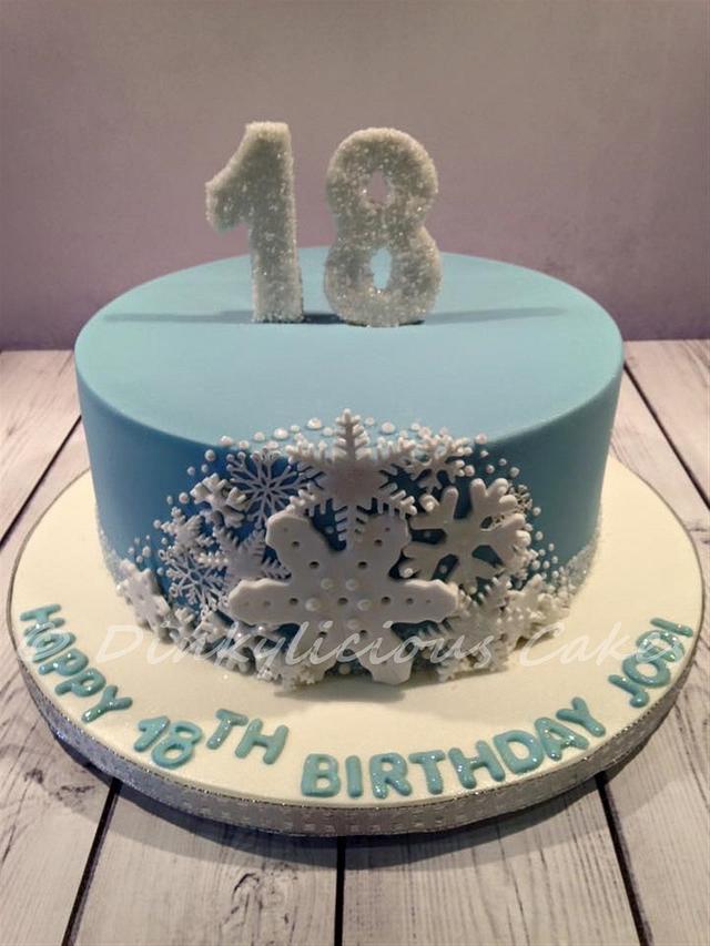 Swell Winter Birthday Cake Cake By Dinkylicious Cakes Cakesdecor Funny Birthday Cards Online Eattedamsfinfo