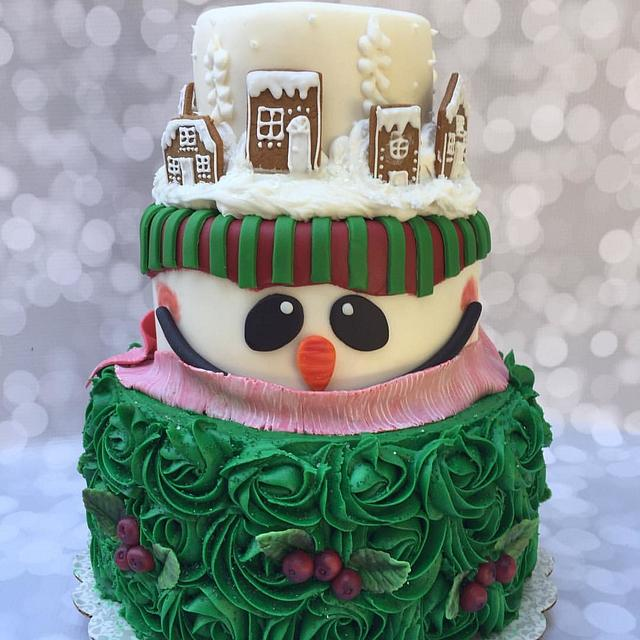 "Christmas Cakes....the more the ""merrier""... Merry Christmas..."