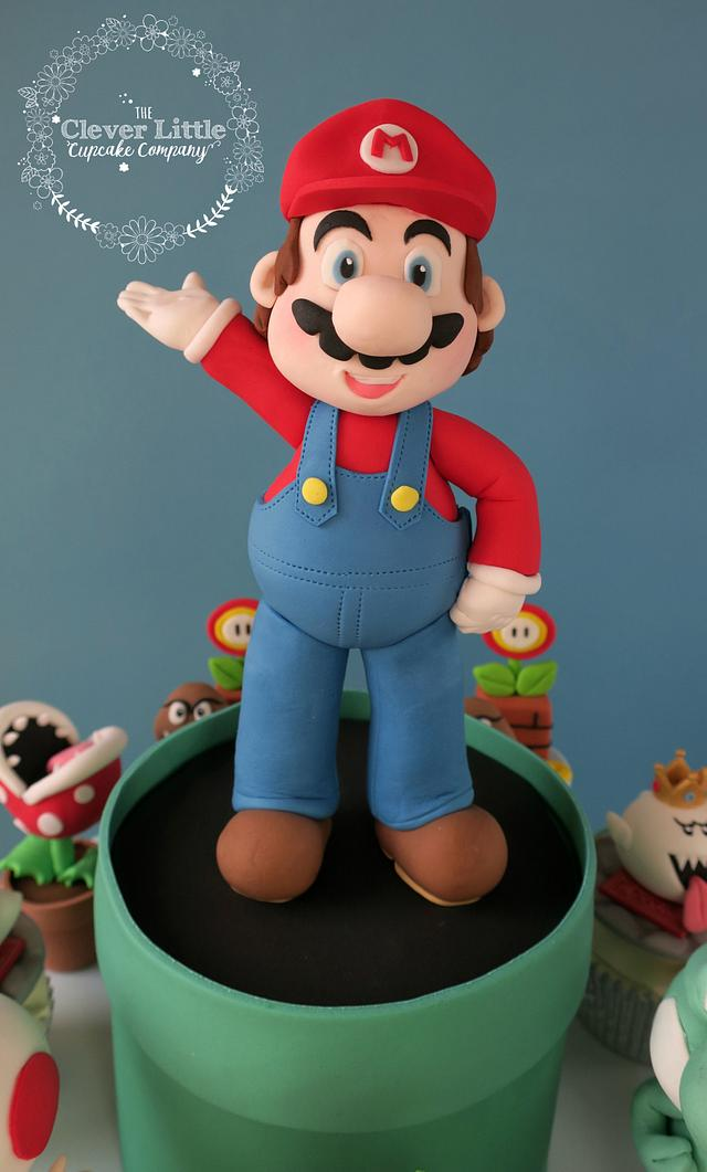 Super Mario Cupcake Tower