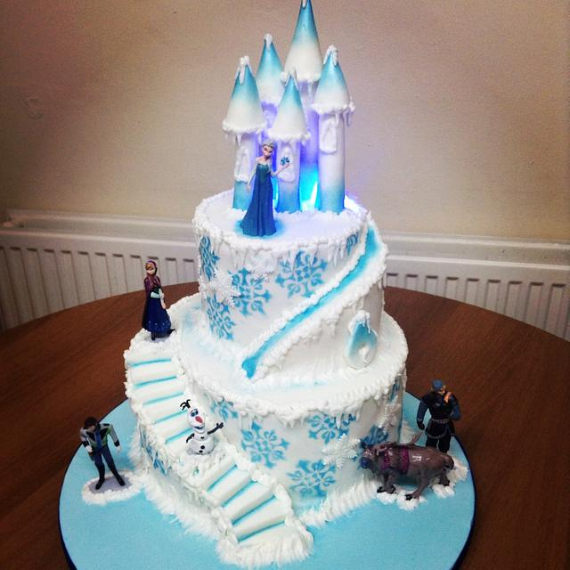 Frozen Cake (with Lights)