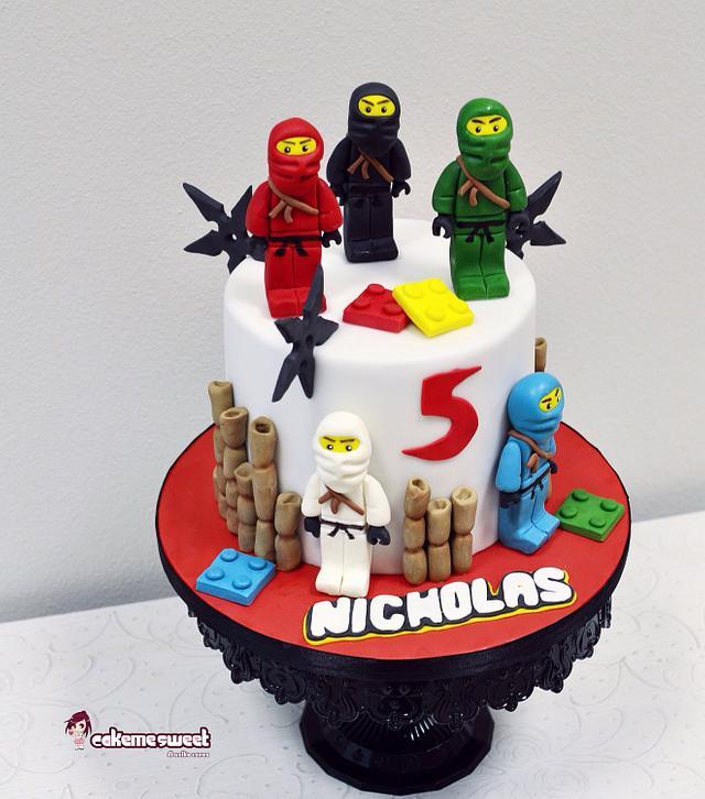 Lego ninjago party set