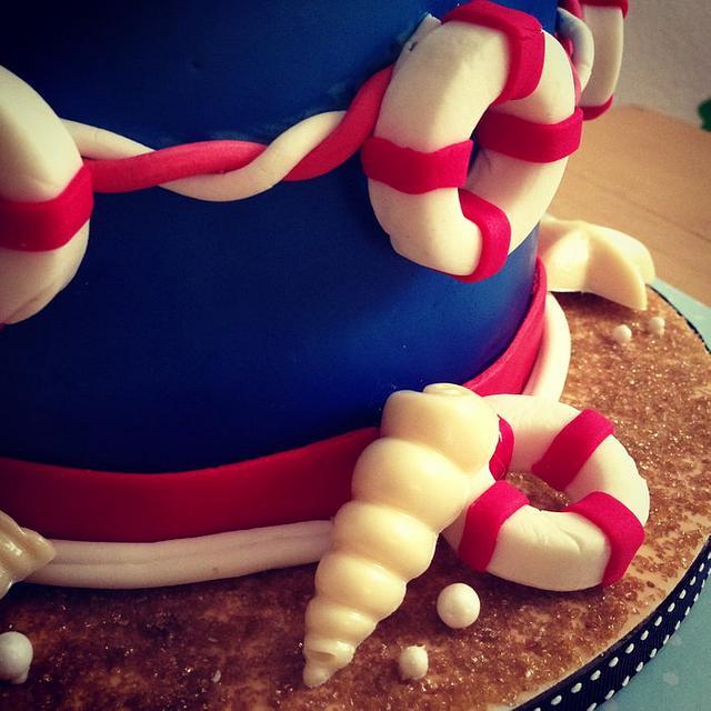 Baby sailor cake