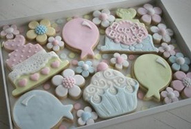 'Birthday Cake' Cookies