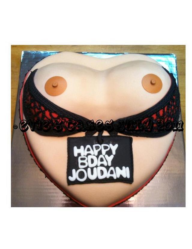 Boobie Cake