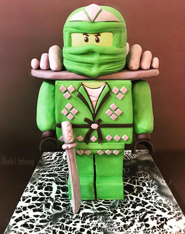 Lego Ninjago Lloyd cake