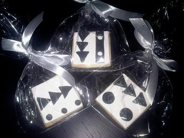 geometrical cookies