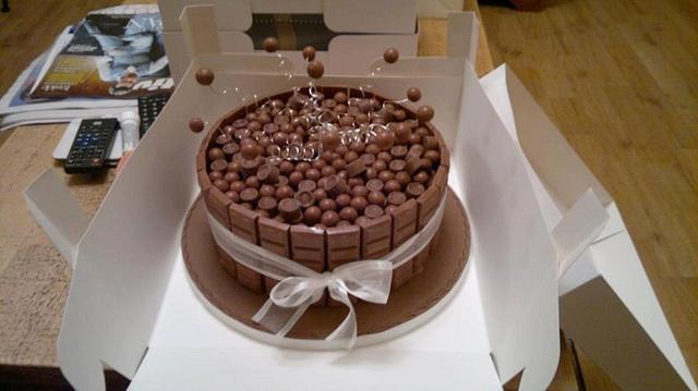 Chocolate heaven groom's cake