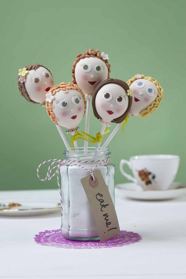 Cake Pop Faces!