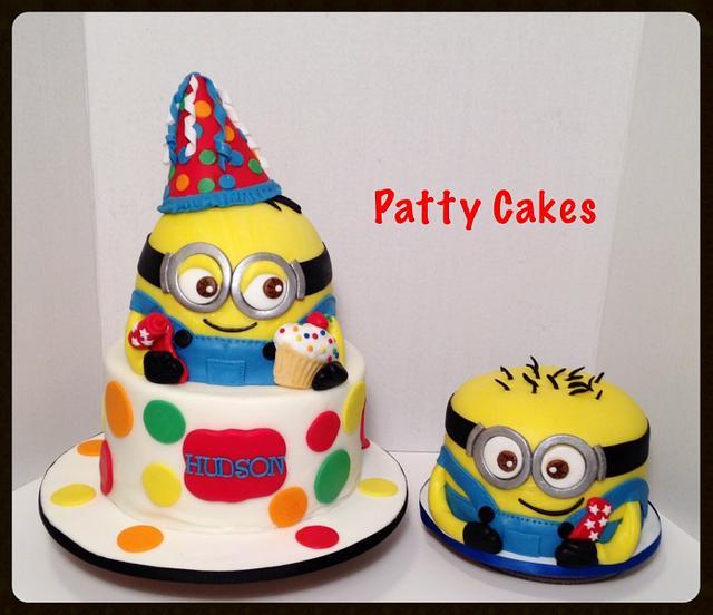 Swell Minion Birthday Cakes Cake By Patty Cakes Bakes Cakesdecor Funny Birthday Cards Online Unhofree Goldxyz