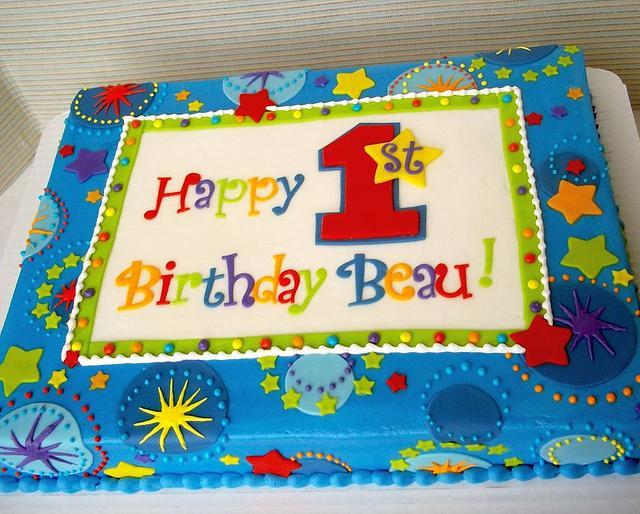 1st birthday Star