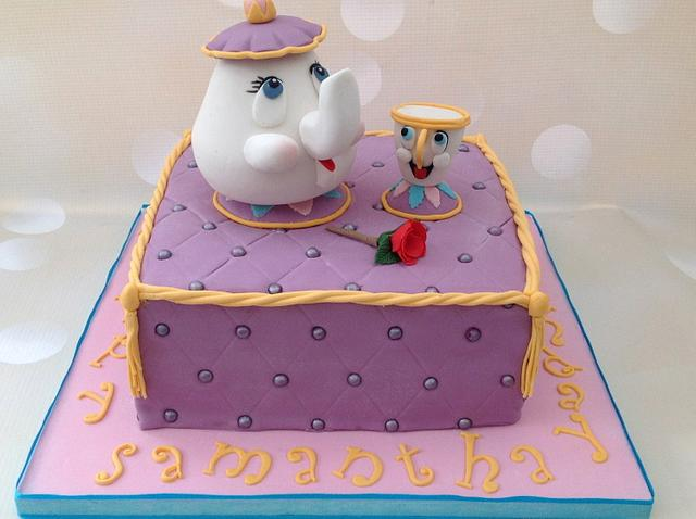 Miraculous Mrs Potts And Chip Beauty And The Beast Birthday Cake Cakesdecor Funny Birthday Cards Online Elaedamsfinfo