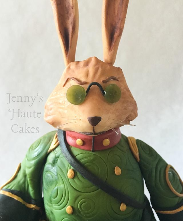 Bunnymund William Joyce Cakes Collaboration
