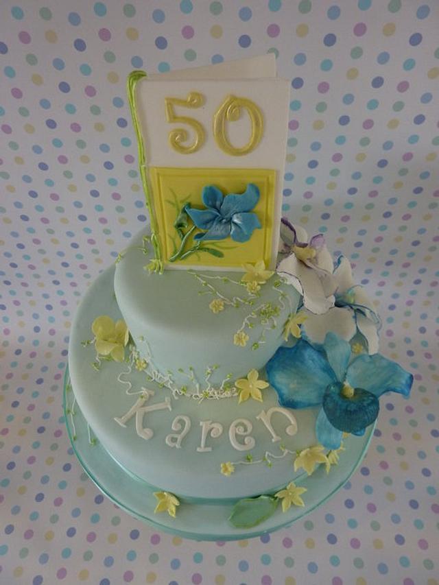 Cake for a card maker.