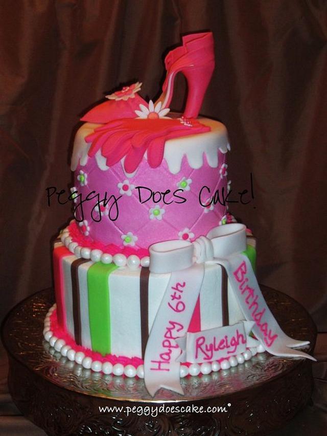 Ryleigh's High Heel Cake