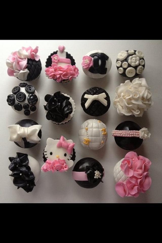 Strange Couture 25Th Birthday Cupcakes Cake By Denise Frenette Cakesdecor Birthday Cards Printable Nowaargucafe Filternl