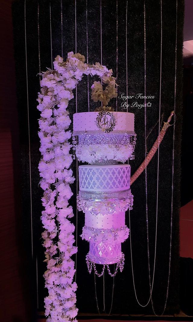 Chandelier Cake/ Hanging Cake
