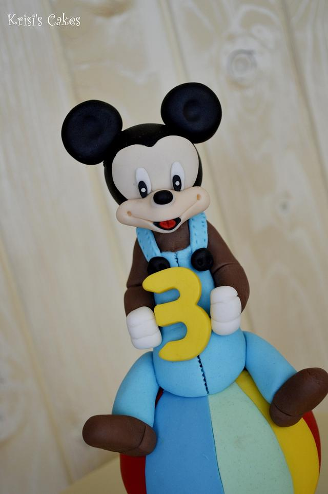 Cake kids mickey mouse