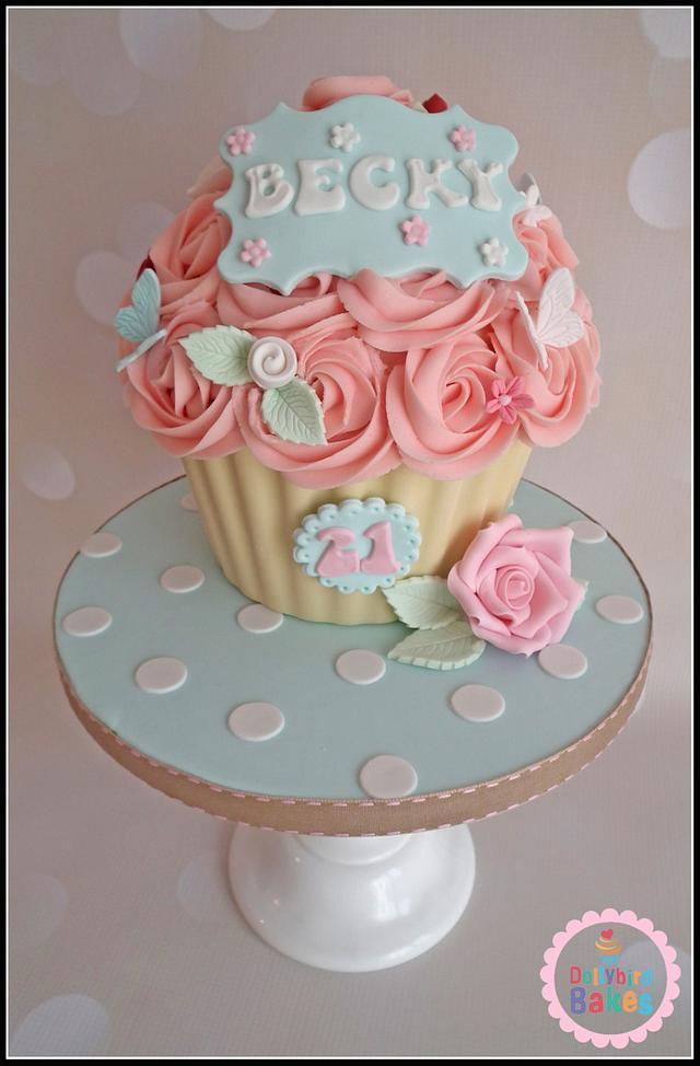 Cath Kidston Giant Cupcake