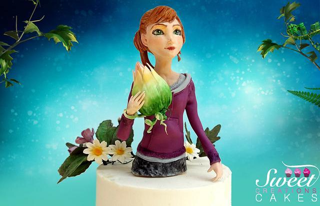 Mary Katherine - EPIC -  William Joyce Cakes Collaboration