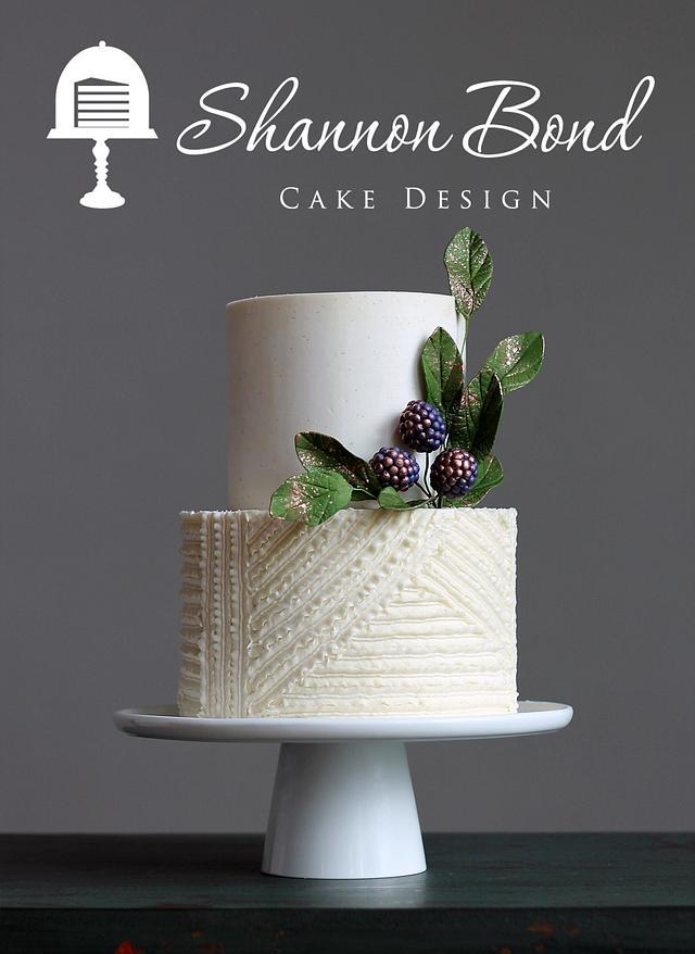 Buttercream Patchwork Cake
