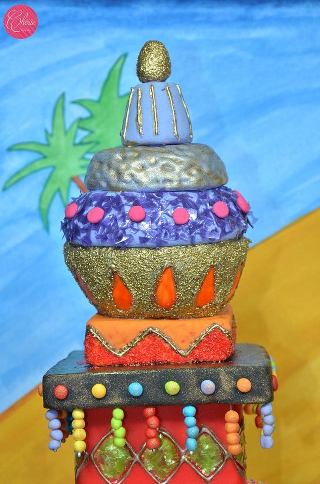 Caker Buddies Collaboration: Sitcom Theme: I Dream Of Jeannie