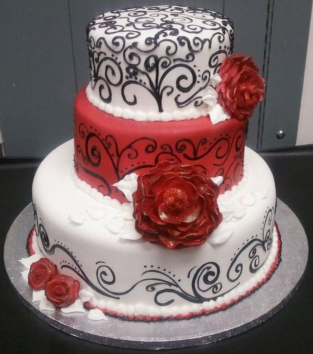 Haley's 18th Birthday cake