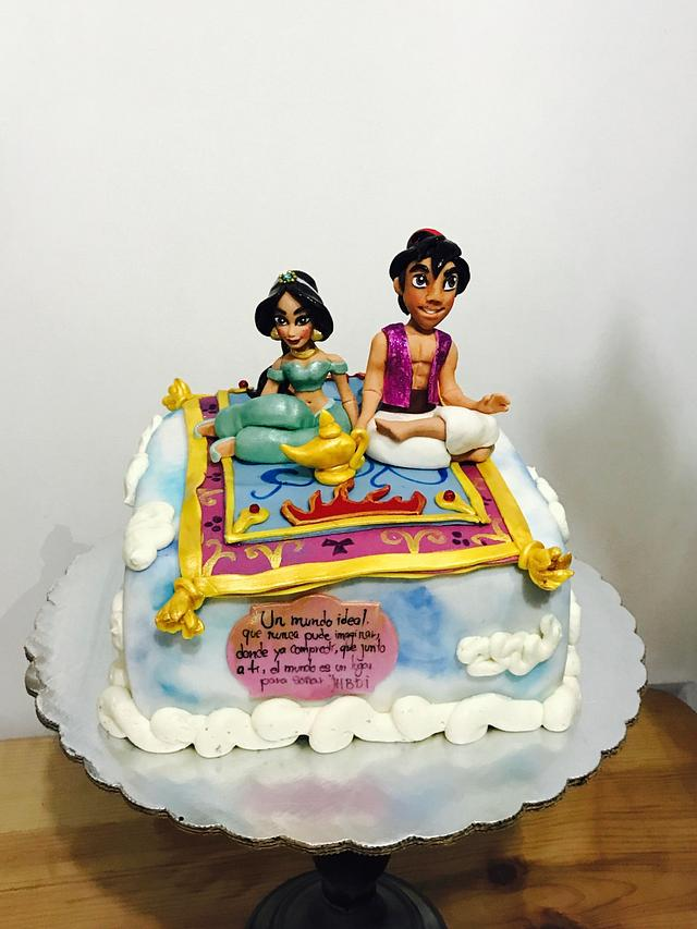Aladinno cake!