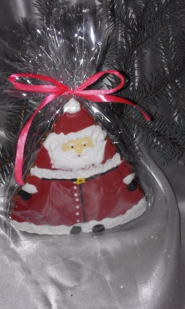 Новорічні пряничні подарунки-солодощі