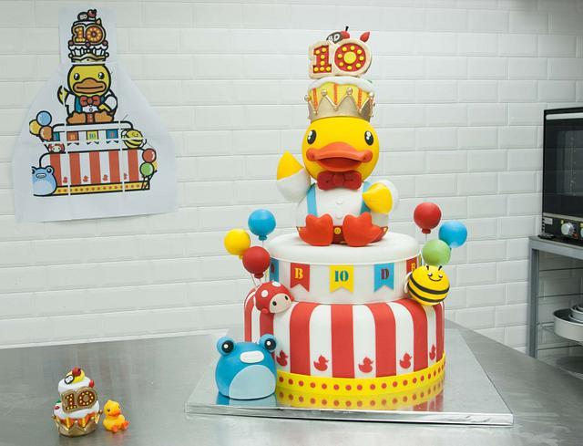 B-Duck 10 anniversary