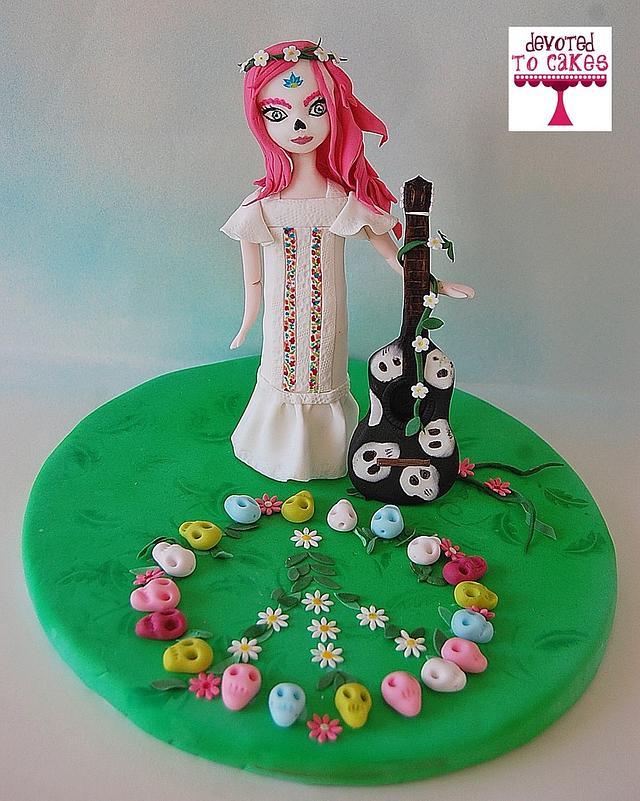 """""""Peace"""" Sugar Skull Bakers 2016"""