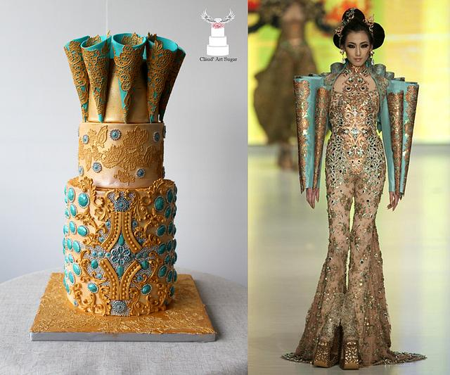 """Couture Cakers International 2018 - """"Jewel"""""""