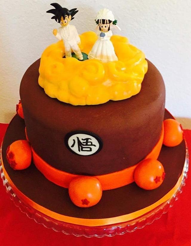 Dragonball Grooms Cake