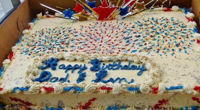 Phenomenal 4Th Of July Birthday Cake In Buttercream Cake By Cakesdecor Funny Birthday Cards Online Necthendildamsfinfo