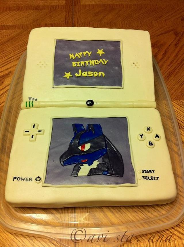 Nintendo DSi Cake
