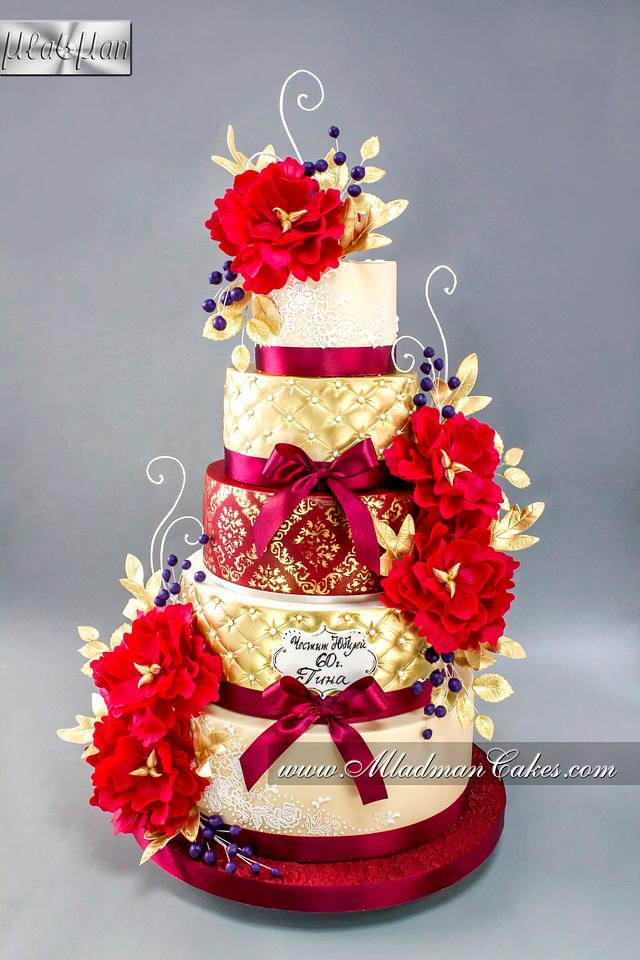Red Rapsody Cake