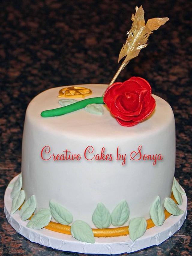 Enjoyable Hunger Games Birthday Cake Cake By Sonya Cakesdecor Funny Birthday Cards Online Elaedamsfinfo