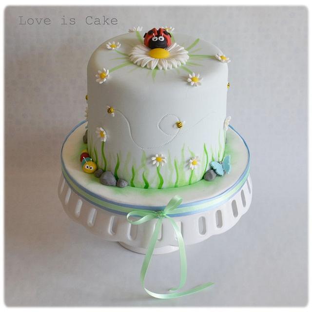 Springtime cake