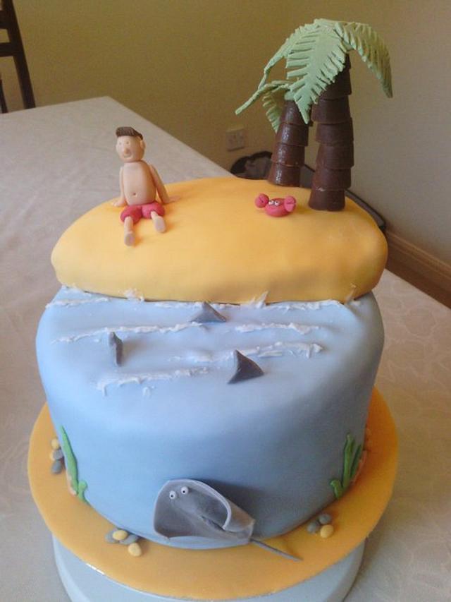 Desert Island Cake