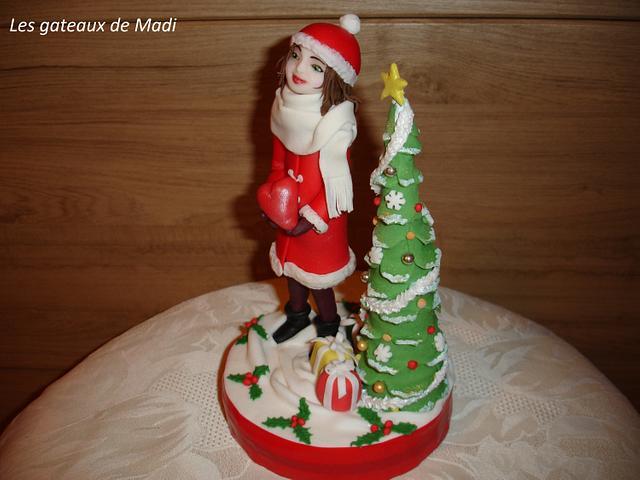 Cake topper pour Noel