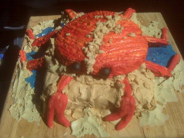 """""""Crab"""" Cake"""