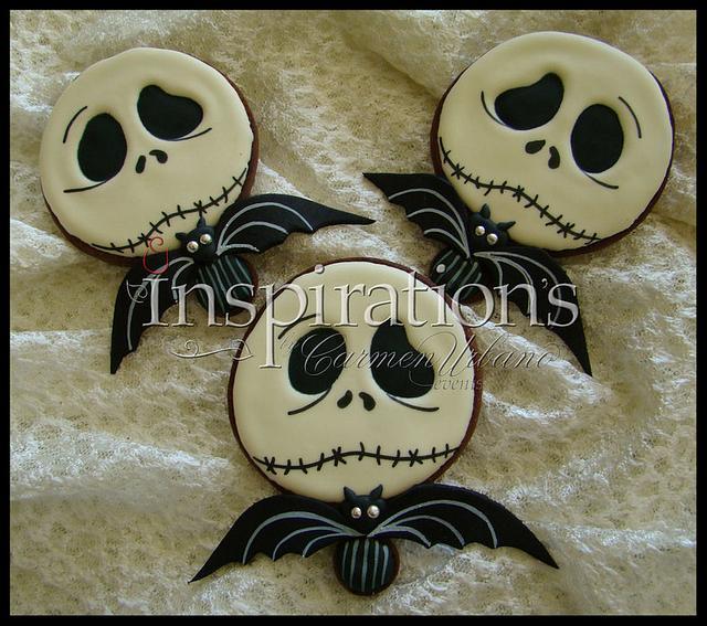 Inspiration's Spooky Cookies Jack Skellington