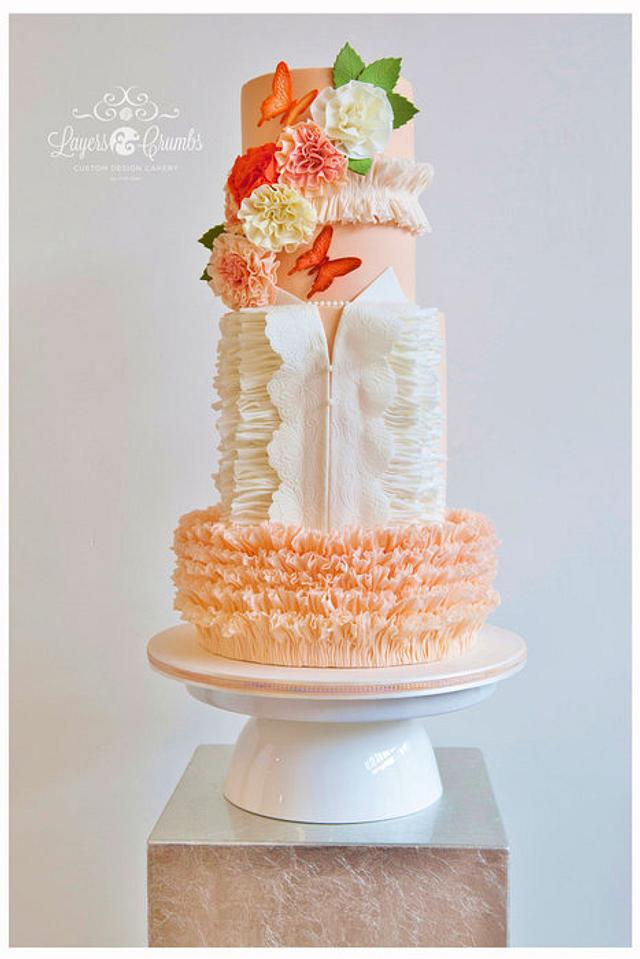 Butterfly Blush for Cake Central Magazine Vol.4 - Issue 2