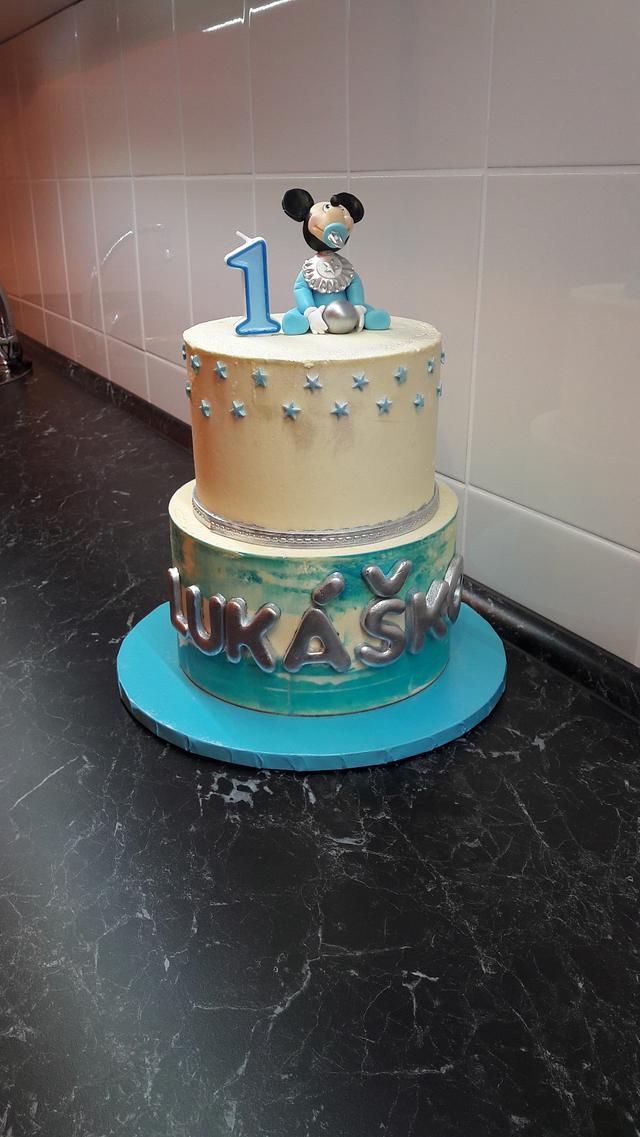 Baby cake Mickey
