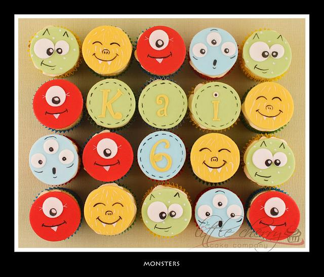 Monster Cupcakes