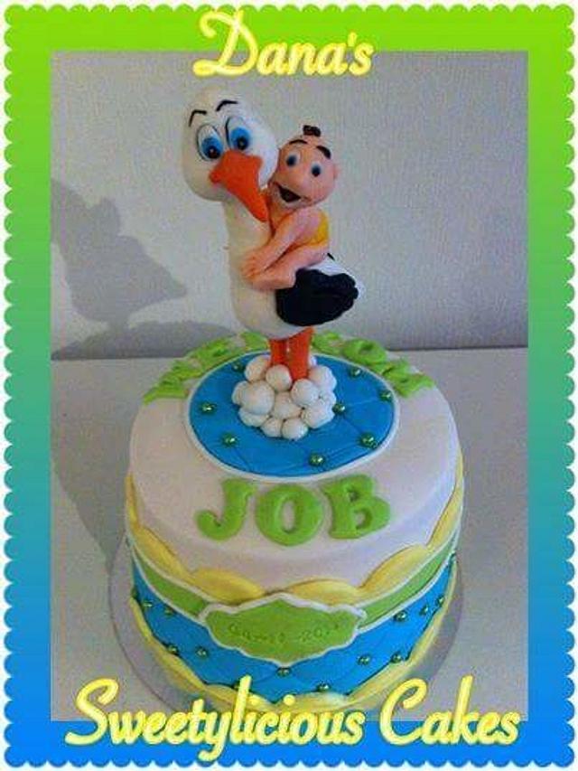 Birth cake babyboy