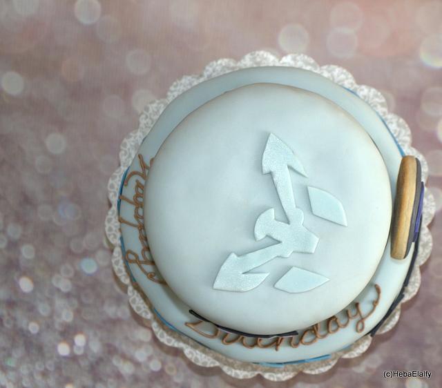Max Steel Birthday Cake