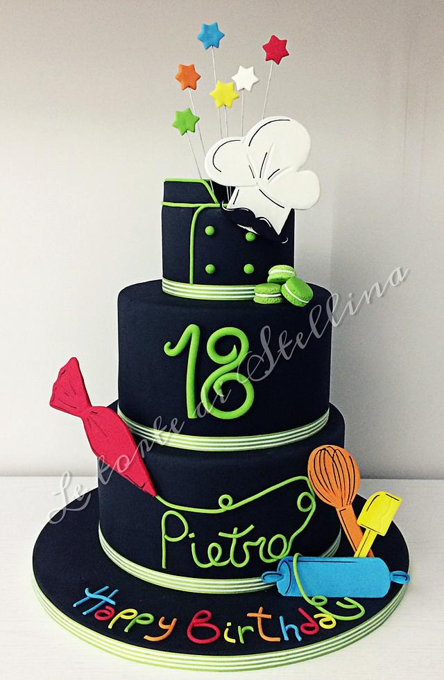 Pastry Chef cake