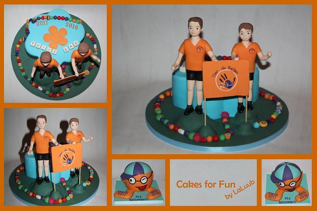 Hospital cakes - Child Leukemia