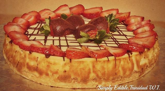 Vanilla Bean Cheese cake