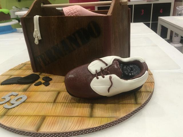 Shoebox Cake
